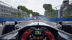 Formula E - Rome Hotlap - Virtually Live