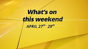 What's on This Weekend 4/27-4/29