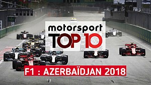 Top 10 - Grand Prix d'Azerbaïdjan
