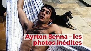 Ayrton Senna - Les photos inédites