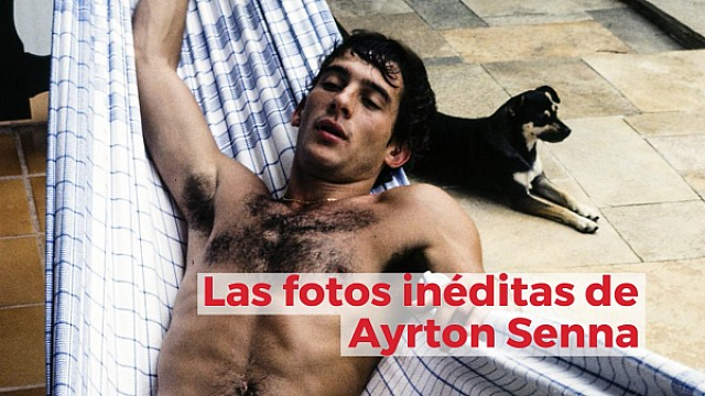 Racing Stories: las fotos inéditas de Ayrton Senna