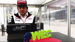 Trivia time with Fernando Alonso at total 6 hours of Spa-Francorchamps