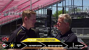 Dunlop track conditions report - Las Vegas, NV
