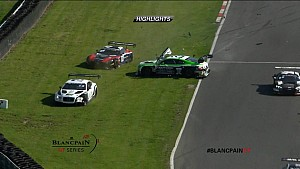 Blancpain GT Series Round 3 Brands Hatch Race 2 Highlight