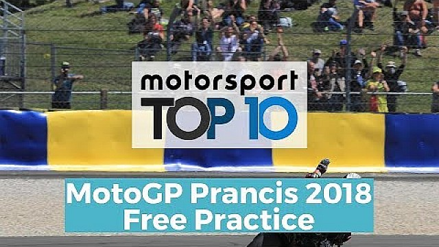 Top 10 Highlights Free Practice | MotoGP Prancis 2018