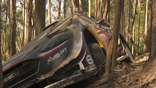 WRC Portugal: Highlights, 1. Tag