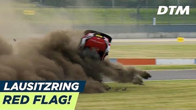 DTM Video: Der irre Unfall von Rene Rast