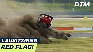DTM Lausitzring: Zware crash van Rast