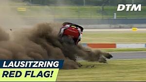 DTM Lausitzring: Unfall von Rast