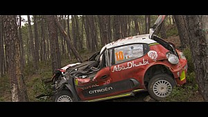 WRC Vodafone Rally Portugal Highlights - Day 2