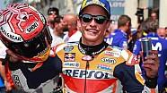 Selebrasi Podium Marc Marquez | MotoGP Prancis 2018