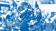 250 Daniel Ricciardo y Christian Horner celebran la carrera de F1 Llandmark de Red Bull Racing