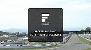 2018 SUPER FORMULA Rd.3 SUGO 予選ダイジェスト