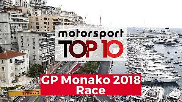 Top 10 Highlights Race | GP Monako 2018