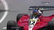 Jacques Villeneuve au volant de la Ferrari de Gilles