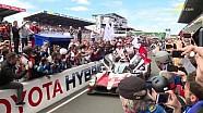 24 Heures du Mans 2018 - La célébration chez Toyota !