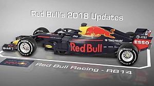 Red Bull's boomerang fin
