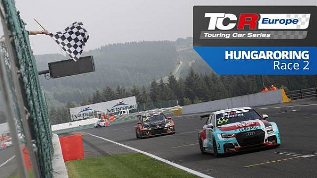 ÉLŐ: TCR Europe, Hungaroring, 2.verseny
