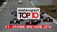 Top 10 - Grand Prix de Grande-Bretagne