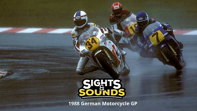 Sights & Sounds: GP da Alemanha de 1988