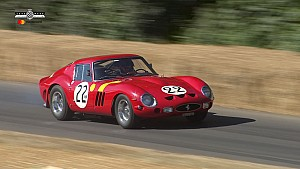 Pink Floyd drummer's Ferrari 250 GTO makes Goodwood appearance